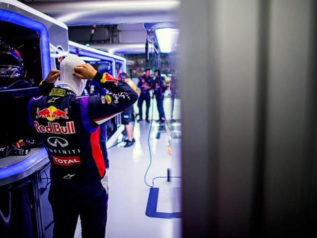 I'm sticking with Red Bull - Vettel