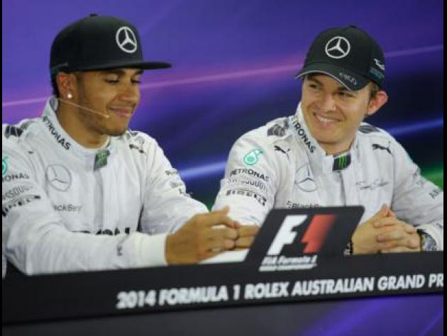 Hamilton wins, Mercedes take teams' crown